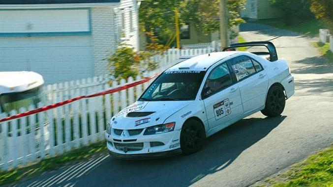 Wasserzufuhr im Rallye Car